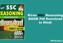 Kiran SSC Reasoning Book PDF