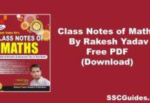 Class Notes of MathsBy Rakesh Yadav