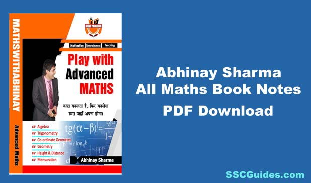 Abhinay Sharma Maths Book PDF