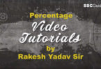 Percentage Video Chapter by Rakesh Yadav Sir