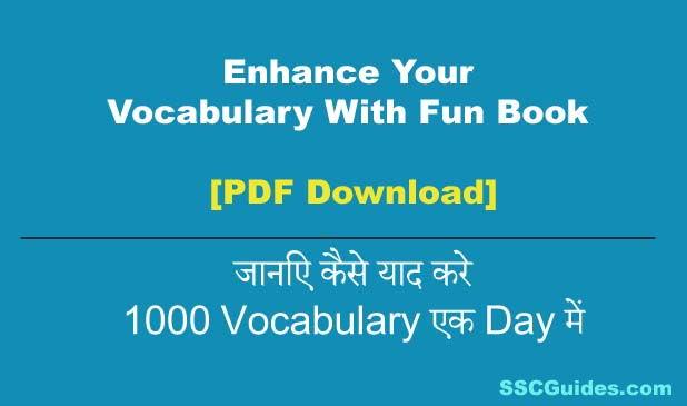 Enhance Your Vocabulary