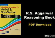 RS Aggarwal Reasoning Book Free PDF
