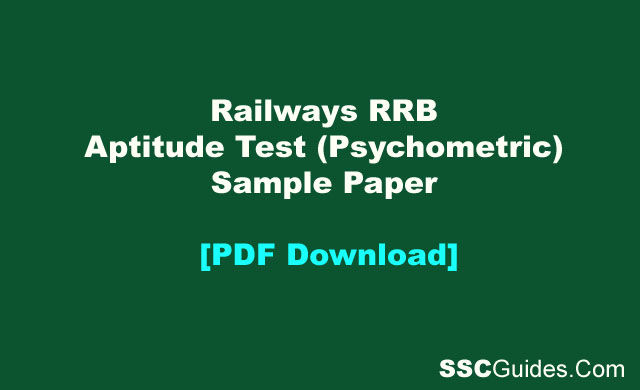 rrb asm aptitude test model papers pdf
