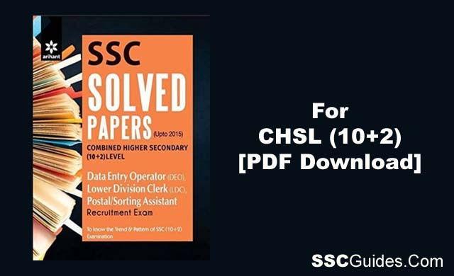 SSC CHSL Practice Booster Book PDF