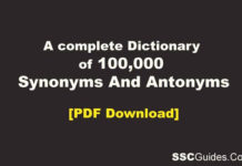 Synonyms And Antonyms Book PDF