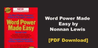 Word Power Made Easy by Nonnan Lewis