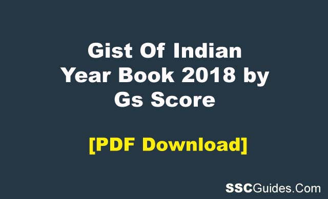 Gist Of Indian Year Book PDF