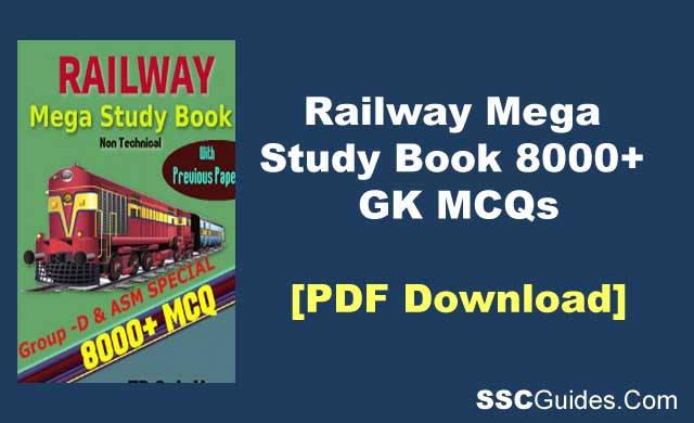 IndianRailway Mega Study Book