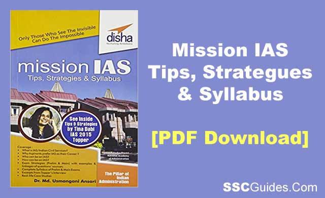Latest Mission Ias 2020 21 Pre Main Exam Book Pdf Download