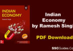 Indian Economy by Ramesh Singh 10th Edition
