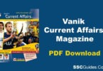 Vanik Current Affairs 2018 PDFVanik Current Affairs PDF