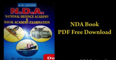 NDA Book PDF Free Download