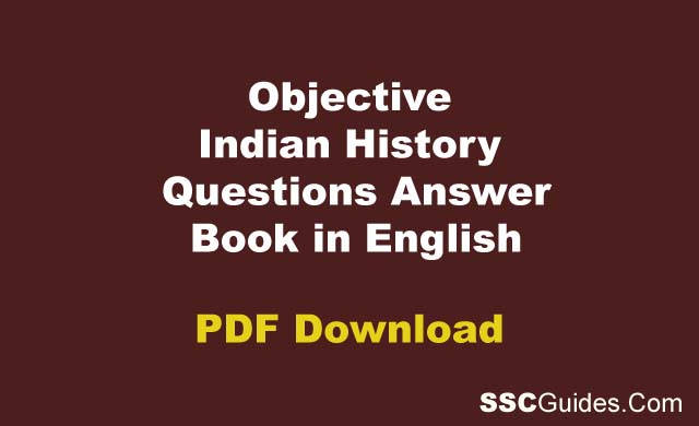 Objective Indian History in English