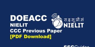 CCC Previous Paper PDF