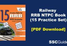 Railway RRB NTPC Book PDF