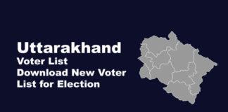 Uttarakhand Voter ID List