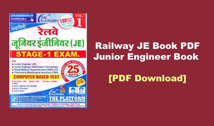 Railway RRB JE Book PDF