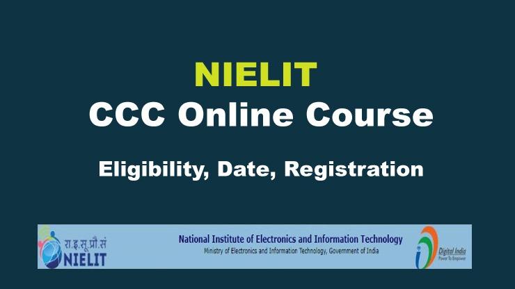 NIELIT CCC Online Course