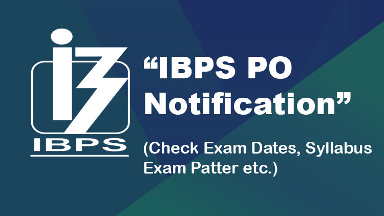 IBPS PO Online Application