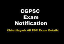 CG PSC SSE Recruitment