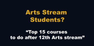 Arts Stream Student 12th ke baad kya kare