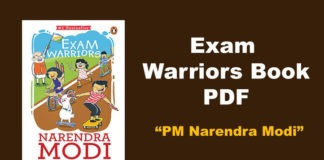 Exam Warriors Book PDF