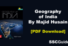 Geography of India By Majid Husain PDF