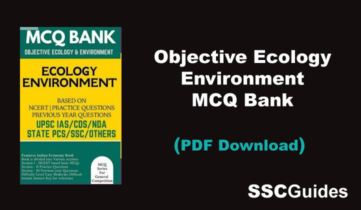 Objective Ecology Environment MCQ Bank PDF