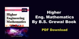 Higher Engineering Mathematics By B.S. Grewal Book PDF