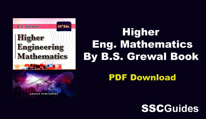 Higher Engineering Mathematics By B.S. Grewal Book PDF