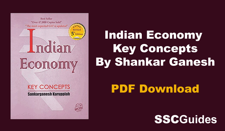 Indian Economy Key Concepts PDF